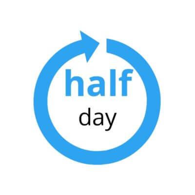 half day icon